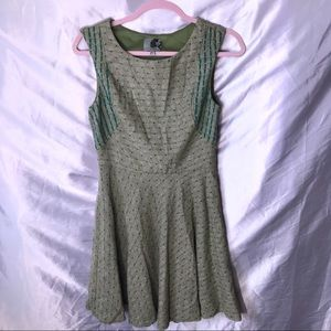Coconinno Eva Franco Sage Green Classic Dress